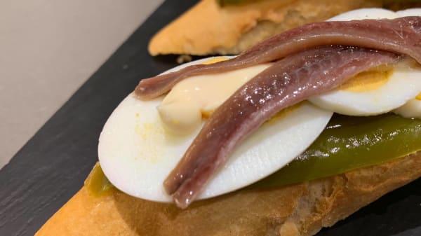Sugerencia del chef - Kamio Taberna, Pasai Antxo