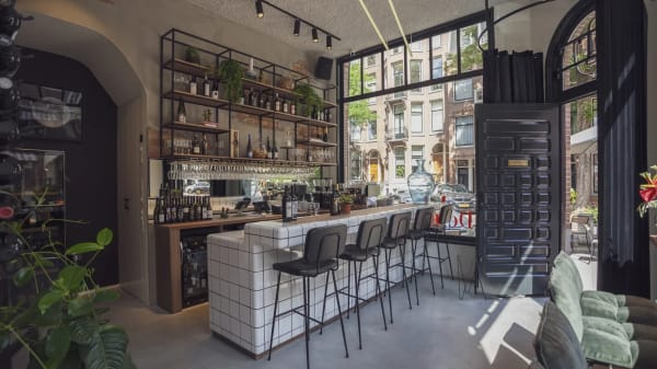 Het restaurant - De Wijnkaart, Amsterdam