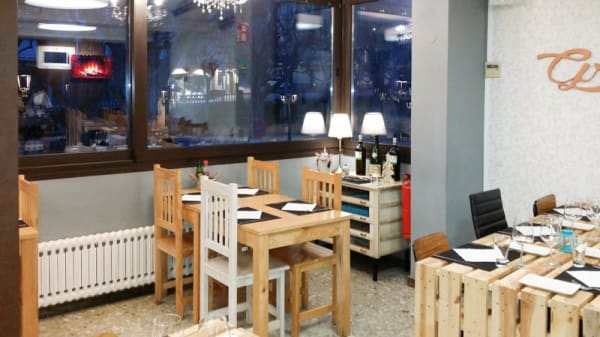 Comedor 1 Piso - Restaurant Gretta, Berga