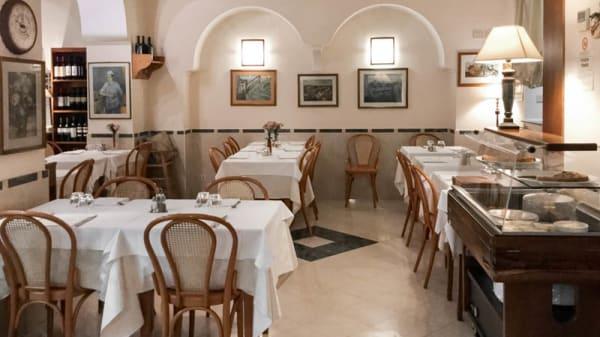 sala - Da Checco e Lina, Roma