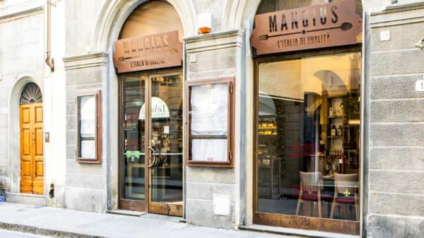 Entrata - Mangius Bistrot, Firenze