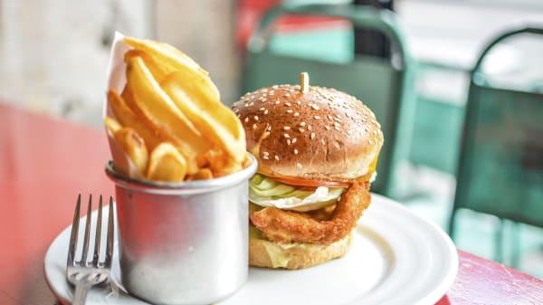 Chicken burger - Le Belmont, Paris