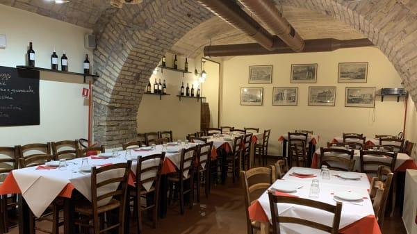 Interno - La Fraschetta Romanesca, Rome