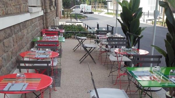 Terrasse - le Bistrot du Quai, Rennes