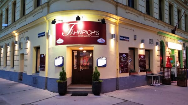 Fassade - Fähnrich's Restaurant, Wien