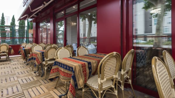 Terrasse - Royal Kashmir, Clamart