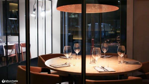 Particolare tavolo - N.O.I. Restaurant, Bergamo