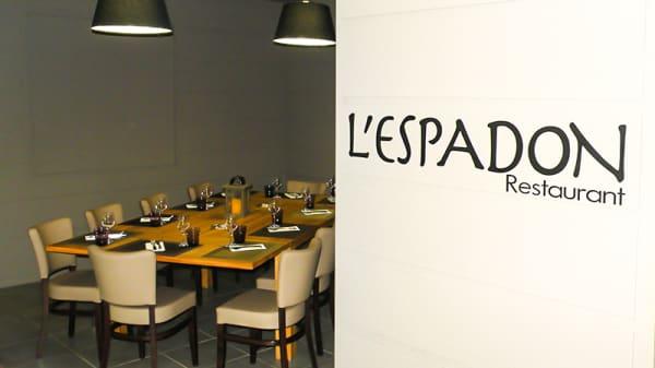 Vue de la salle - Hôtel-Restaurant l'Espadon, Saint-Jean-de-Monts