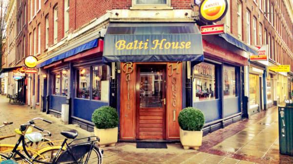 Ingang - Balti House, Amsterdam