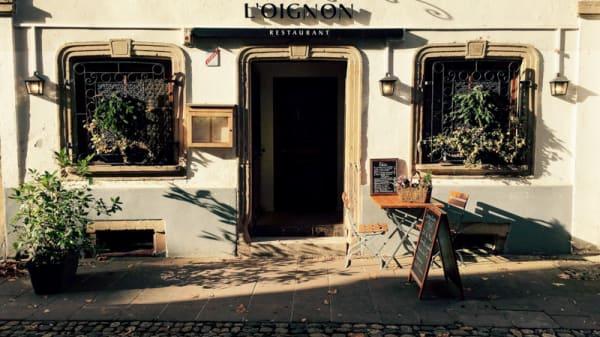 Facade - Restaurant L'Oignon | Strasbourg Petite France, Strasbourg