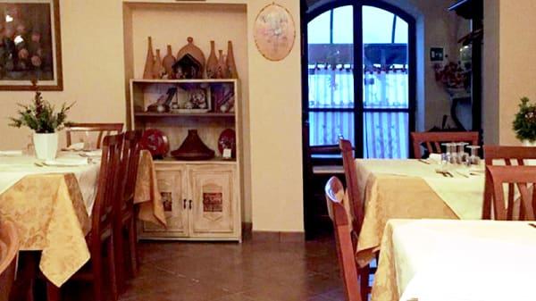 Vista sala - Agriturismo La Magione del Capitano, Montecorvino Pugliano,
