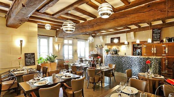 Salle du Restaurant Le XII - Douze de Luynes, Touraine - Le XII - Douze de Luynes, Luynes