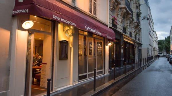 le restaurant - La Franche Croquée, Paris