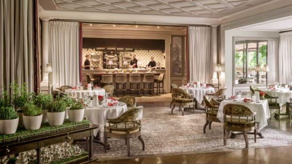 la salle du restaurant - Restaurant du Métropole Monte-Carlo, Monaco