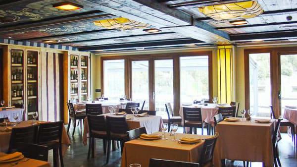 Vista sala - El Boj - Hotel Santa Cristina, Canfranc