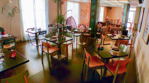 Vista de la sala - Dharma Sushi Lounge, Sitges