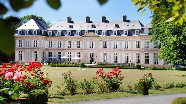 Devanture - Château de Sissi - Les 3 Roses, Sassetot-le-Mauconduit