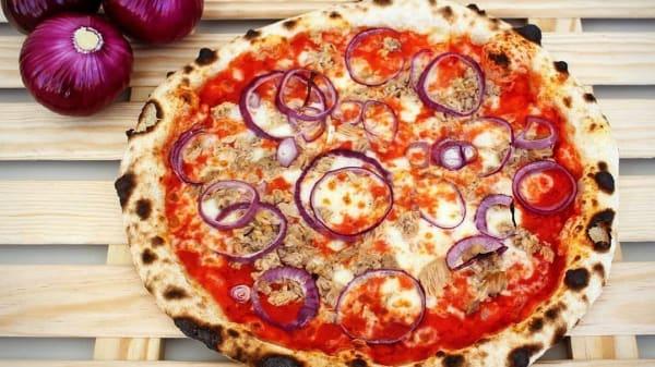Pizza Atum e Cebola - Don Panzerotto, Lisboa