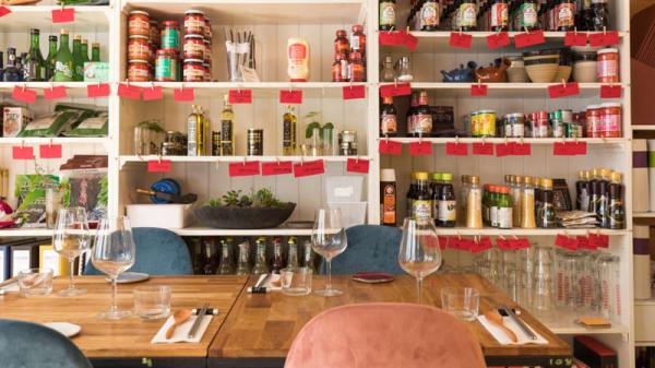 Vue de la salle - La Table de Maïna, Montrouge