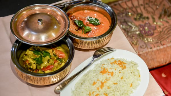 Vue plats - La Vallée du Kashmir, Ixelles