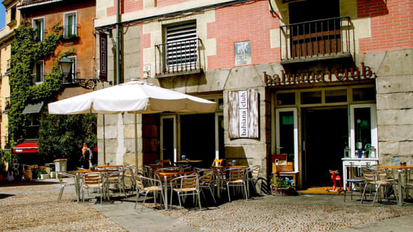 Entrada - Bahiana club, Madrid