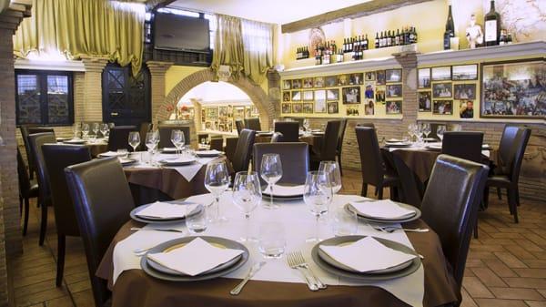 La sala - La Villetta dal 1940, Rome