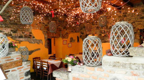 Vista sala - Trattoria Pizzeria Ristorante in Borgovico, Como