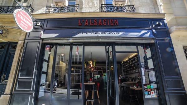 Bienvenue à l'Alsacien, Paris 4ème - L'Alsacien, Paris