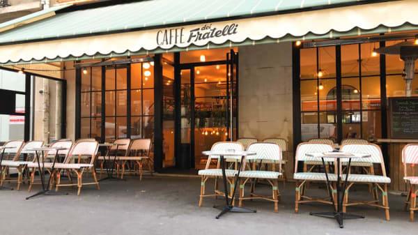 Devanture - Caffe Dei Fratelli, Paris