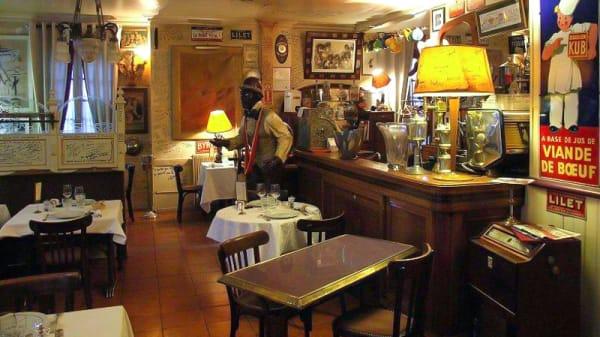 Vue de la salle - Chez Francis, Brive-la-Gaillarde