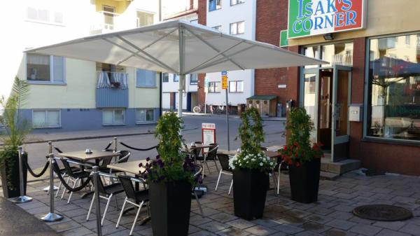 Terrasse - Isak's Corner, Gävle