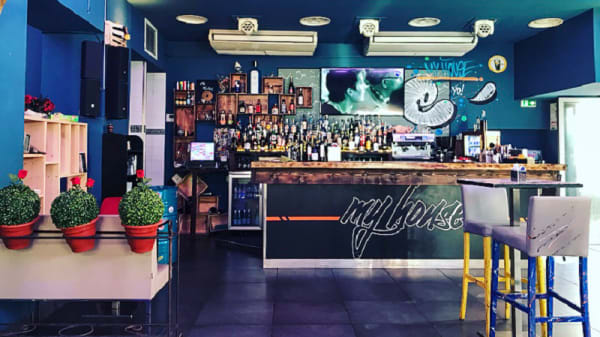 Salle du restaurant - My House, Nice