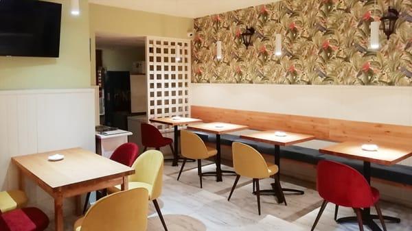 Vista sala - De la Cruz Pasta & Pizza Bar, Madrid