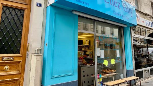 Devanture - Chez Guy, Paris