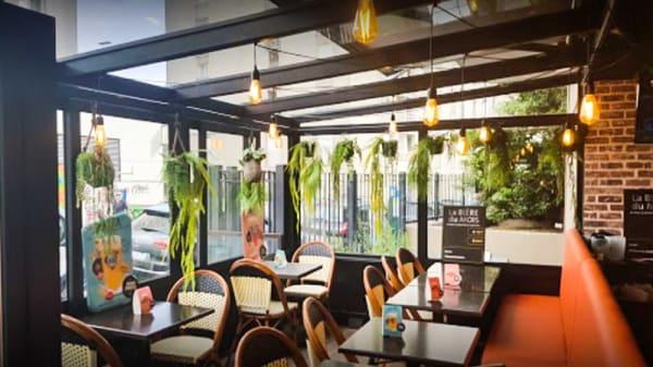 Vue de la salle - Cafe Plaisance, Paris