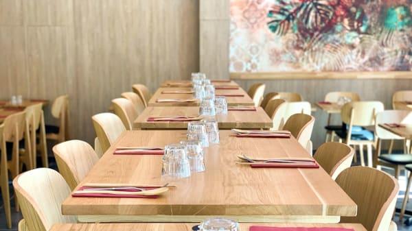 Salle du restaurant - Hoki Sushi, Paris
