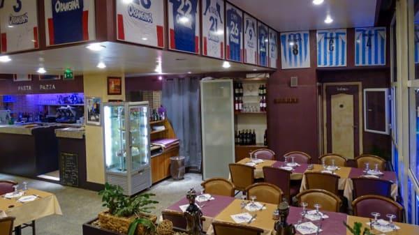 Vue de la salle - Pasta Pazza, Ivry-sur-Seine