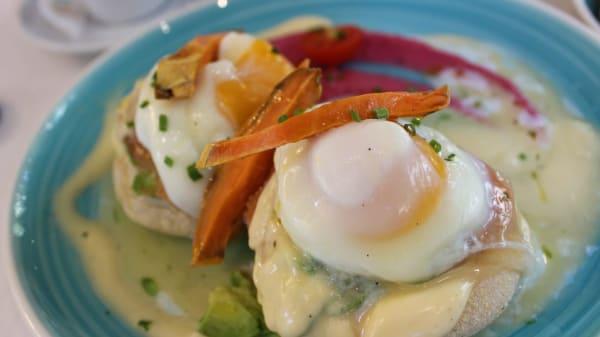 Sugerencia del chef - Huevos Benedict - Cocoa, Barcelona