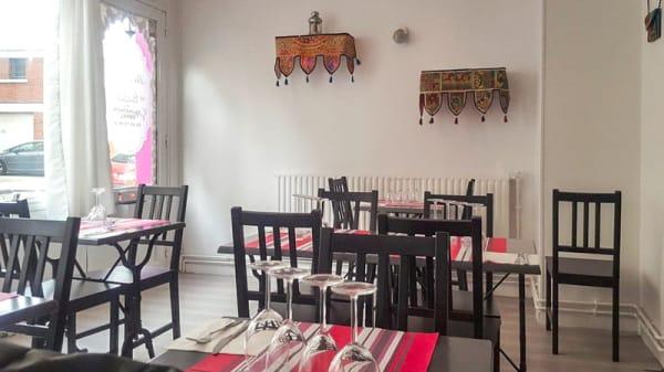 Salle du restaurant - Rajasthan Royal, Le Havre