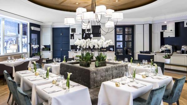 La salle de restaurant - Cuisine l'E7 - Hôtel Edouard 7, Paris