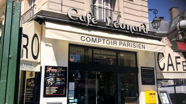 Entrée - Café Leonard, Paris