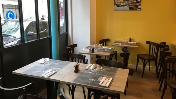 Salle du restaurant - Alta Rocca, Paris