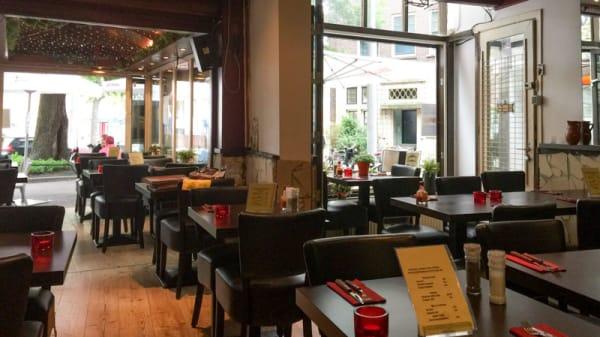 Het restaurant - Agabi Santa Maria, Amsterdam