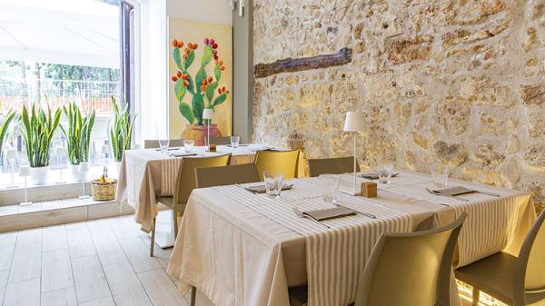 Vista sala - Quid gusto siciliano, Palermo