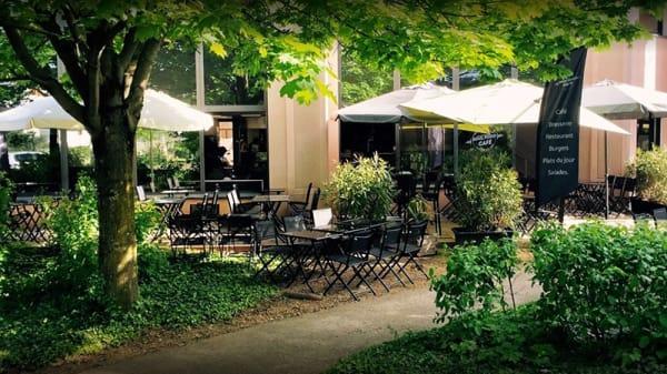 Terrasse et jardin - Soulfood Café, Bron