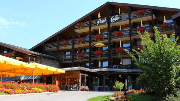 entrée Hôtel Cailler - Le Bistro Hôtel Cailler, Val-de-Charmey
