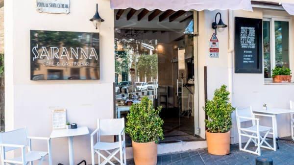 Entrada - Saranna Café & Gastrobar, Palma de Mallorca