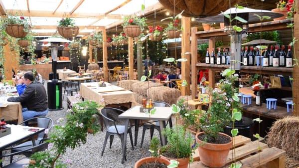 .Beer Garden - La Granja Naranja, La Calera