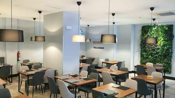 Vista de la sala - Kandida Gastrobar, Madrid