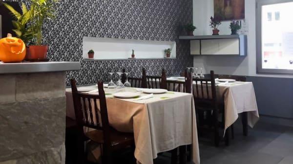 Vista sala - El Italiano, Madrid
